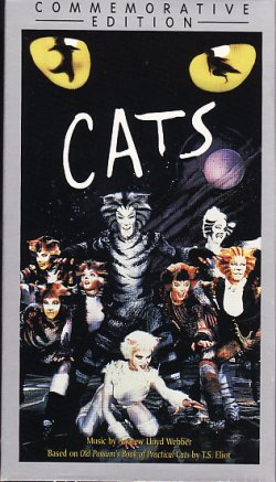 画像1: 中古ビデオ/ミュージカル『CATS』(輸入版)